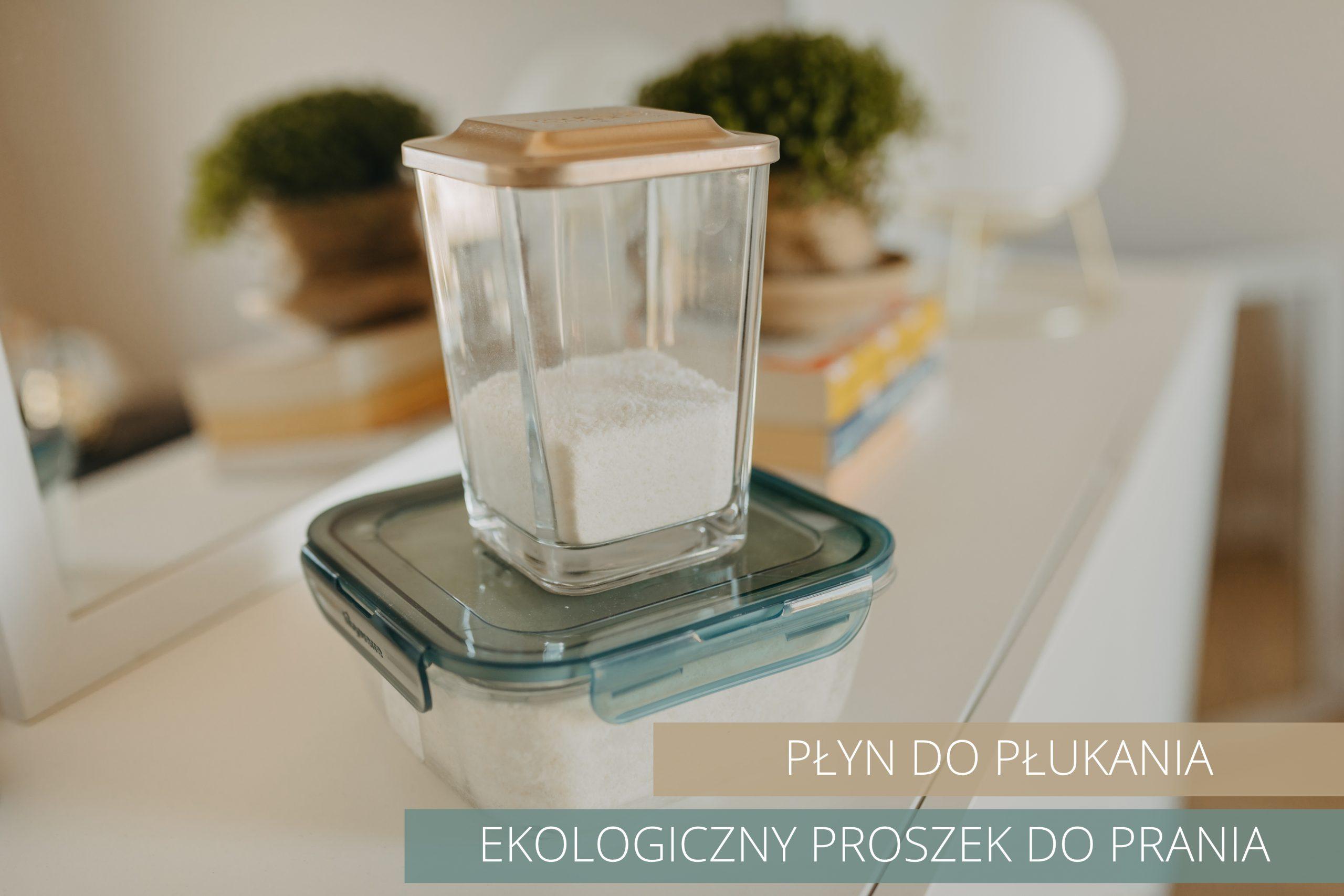 Ekologiczny proszek i płyn do prania